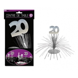 CENTRE DE TABLE 20 ANS