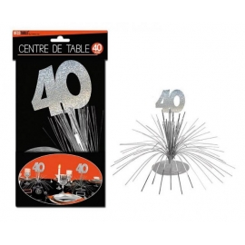 CENTRE DE TABLE 40 ANS