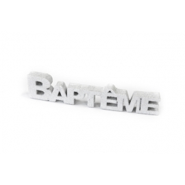 "DECO DE TABLE ""BAPTEME"""