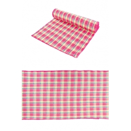 CHEMIN DE TABLE MADRAS FUCHSIA