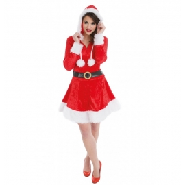 MERE NOEL CAPUCHE TAILLE S