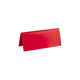 Marque Place rectangle carton x 10 ROUGE