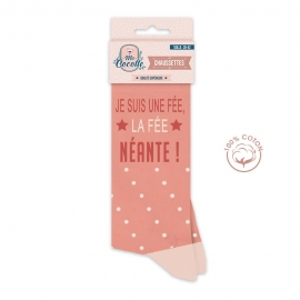 """CHAUSSETTES """"FEE NEANTE."""""""
