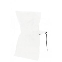 Housses de Chaises Blanc (sans noeuds)