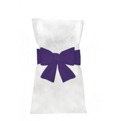 Noeuds pour Housses de Chaises Violet