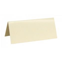 Marque Place rectangle carton x 10 Blanc