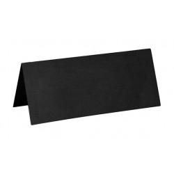 Marque Place rectangle carton x 10 Argent