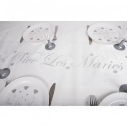 CHEMIN DE TABLE VIVE LES MARIES