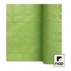nappe damass e 6m pistache envies festives. Black Bedroom Furniture Sets. Home Design Ideas