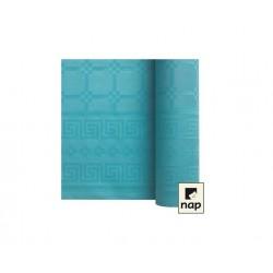 nappe damass e 6m lagon turquoise envies festives. Black Bedroom Furniture Sets. Home Design Ideas