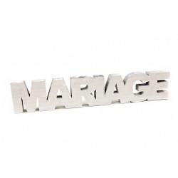 """DECO DE TABLE """"MARIAGE"""""""