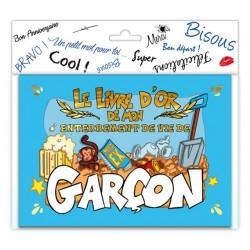 LIVRE D'OR J'ENTERRE MA VIE DE GARCON