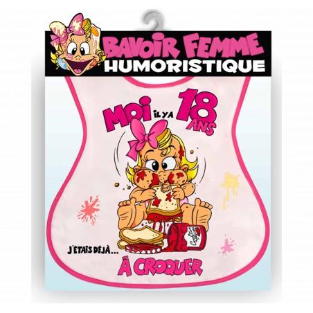 BAVOIRS HUMORISTIQUES FEMME 18 ANS